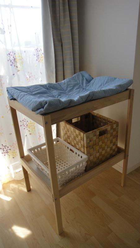 IKEAの激安おむつ替え台を買ってみた!