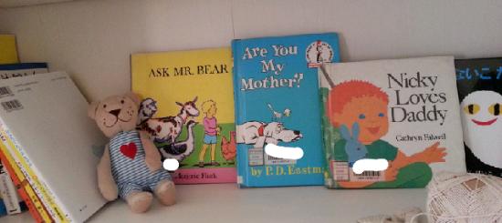 値のはる英語の絵本はまず図書館で!
