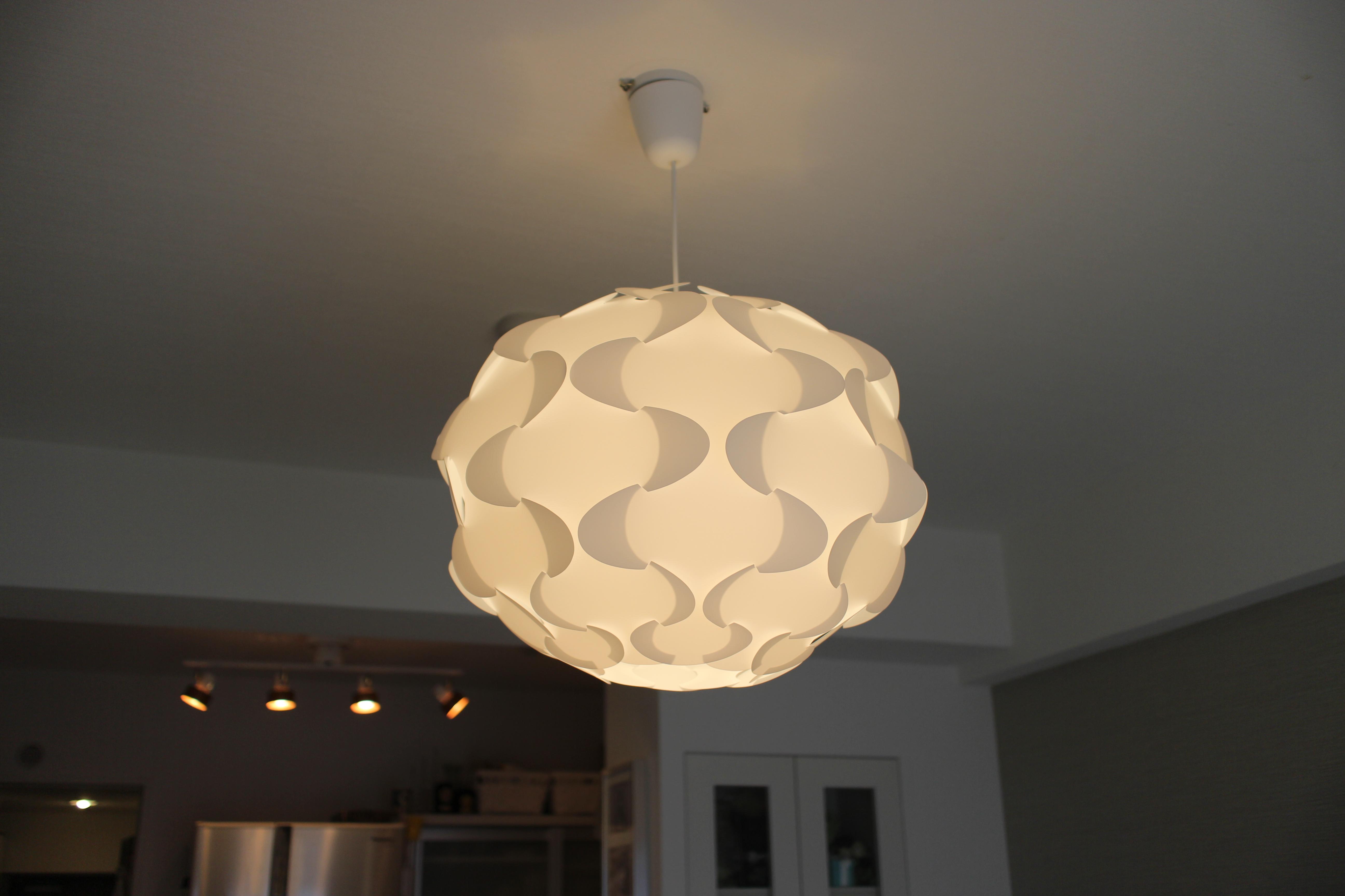 IKEAの照明FILLSTAをつけてみた。