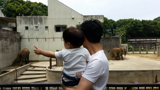 1才児と動物園に行ってきました。