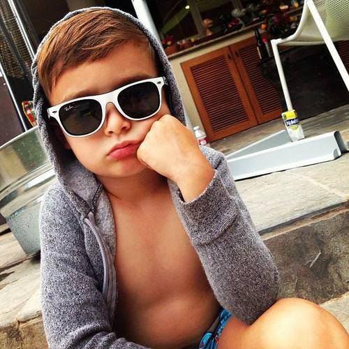 1才児にできる、夏のおしゃれな髪型。