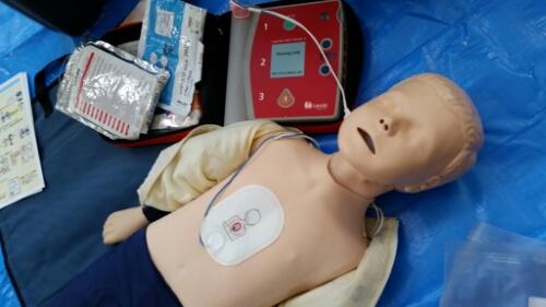 子どもの一次救命処置を習ってきました。