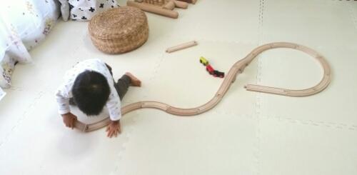 1才7ヶ月:熱中しているおもちゃのこと。