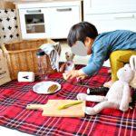 可愛いレジャーシートを持って子供とピクニックに行こう!!!