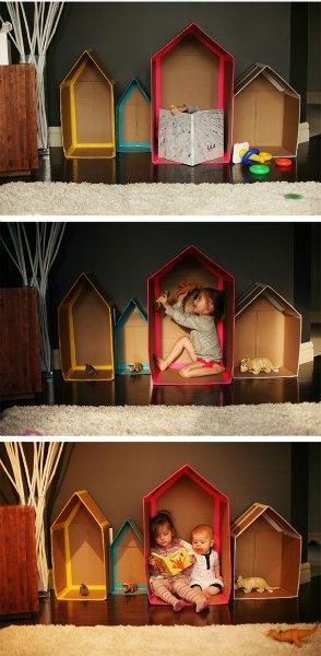 Cardboard-Houses