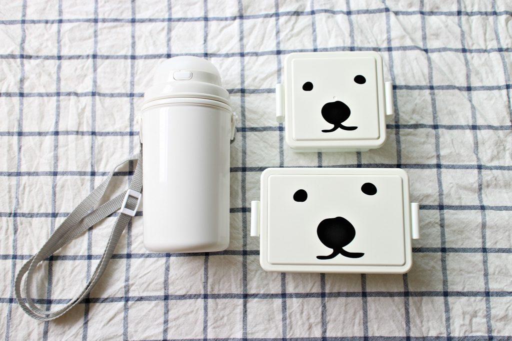 無印良品のストロー付水筒&保冷ランチボックスCOOま愛用中。