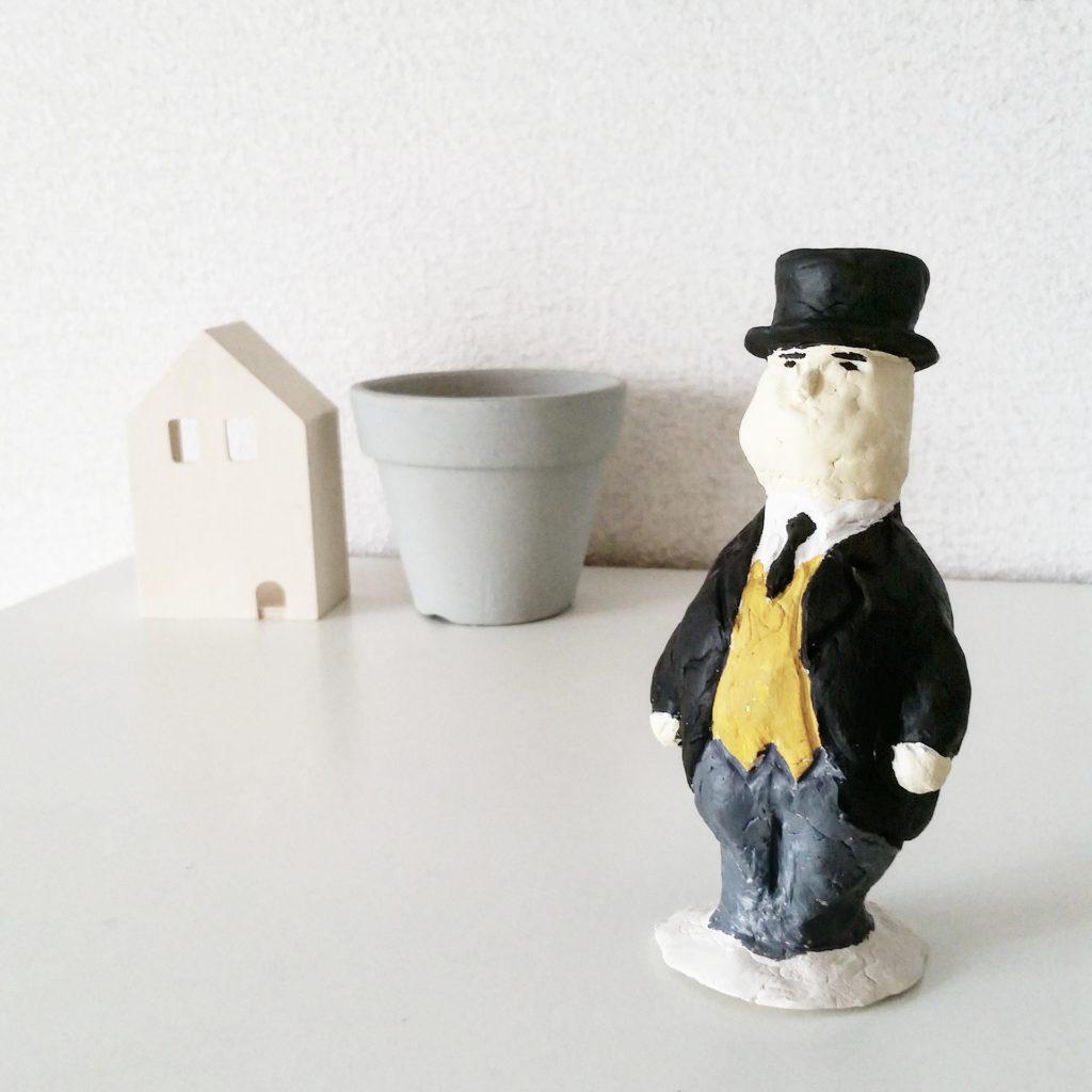 きかんしゃトーマスのトップハムハット卿人形をつくってみた。