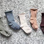 韓国子供服のリブソックス購入品:売り切れ続出の秋色ソックス!