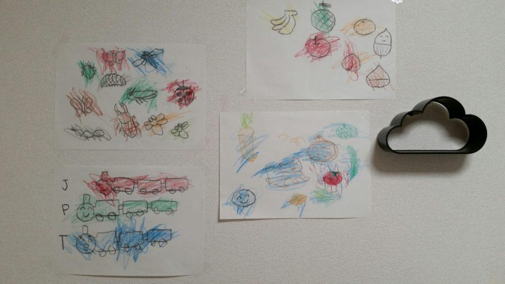 自分でお絵描きしたがらない2才児がお絵描きをするようになったきっかけ。