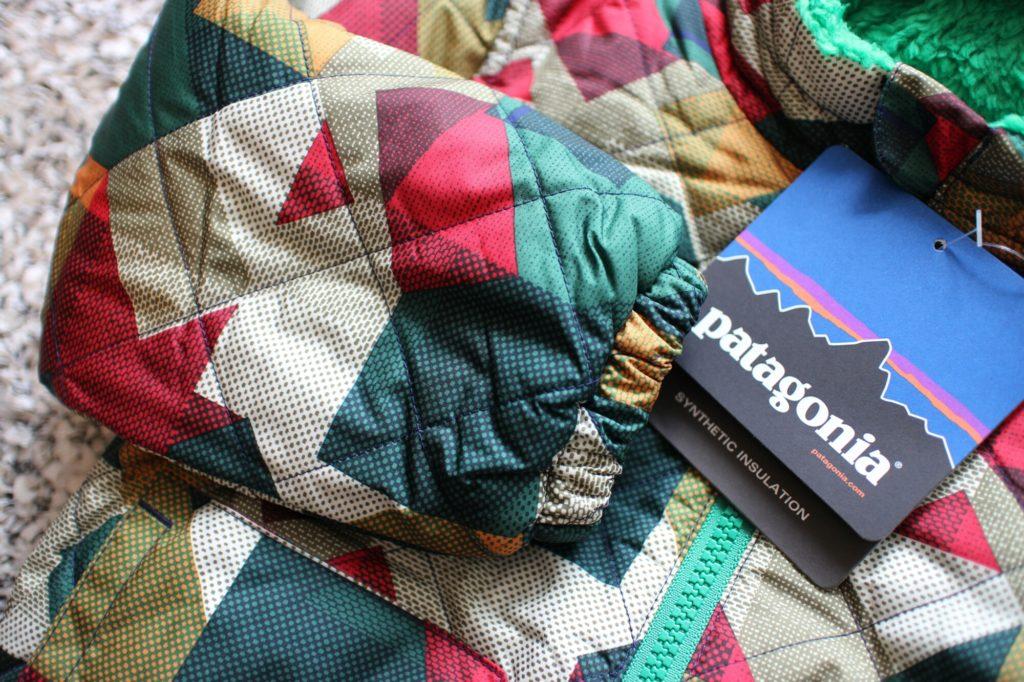 2才秋冬アウター購入:Patagoniaジャケット
