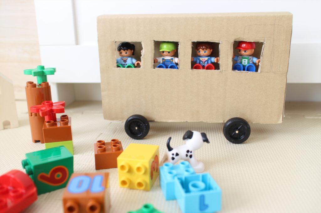 LEGO BUS DIY