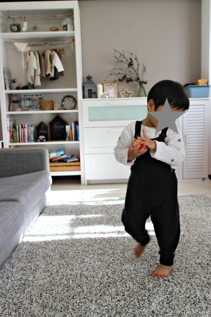 新居の子供部屋収納。白家具統一で楽なインテリア。