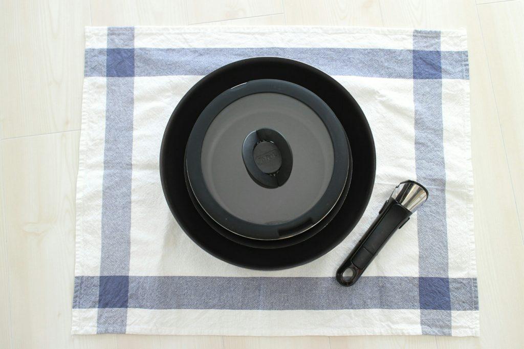 鍋フライパン類をティファールのセットに総入れ替えした話。