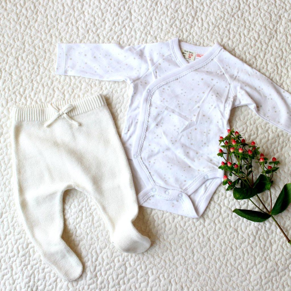 ZARAminiの新生児ベビー服購入!コーデしてみた。