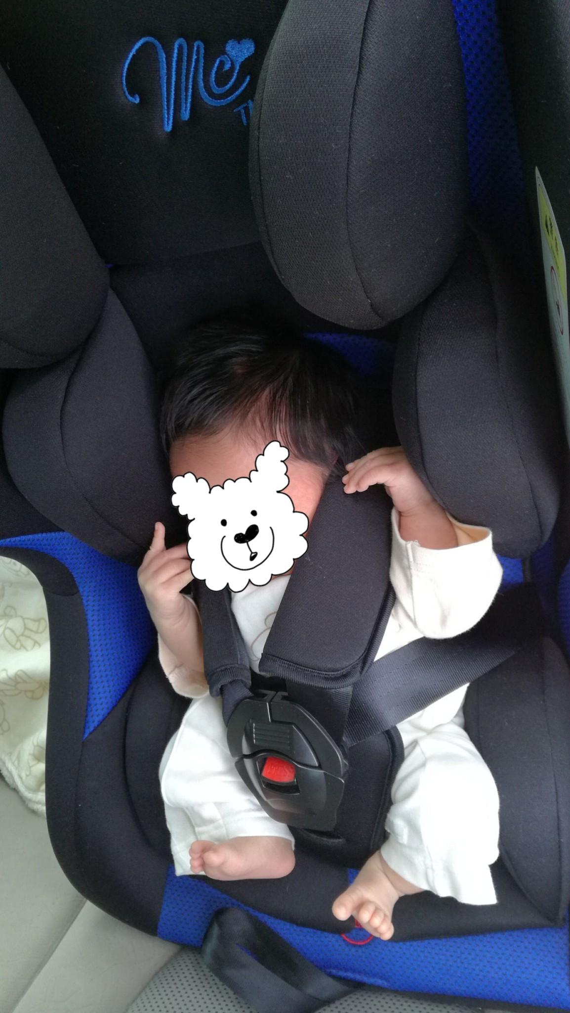 西松屋マムズキャリーレジェに新生児