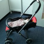 生後1ヶ月赤ちゃん連れで飛行機搭乗!里帰り終了。