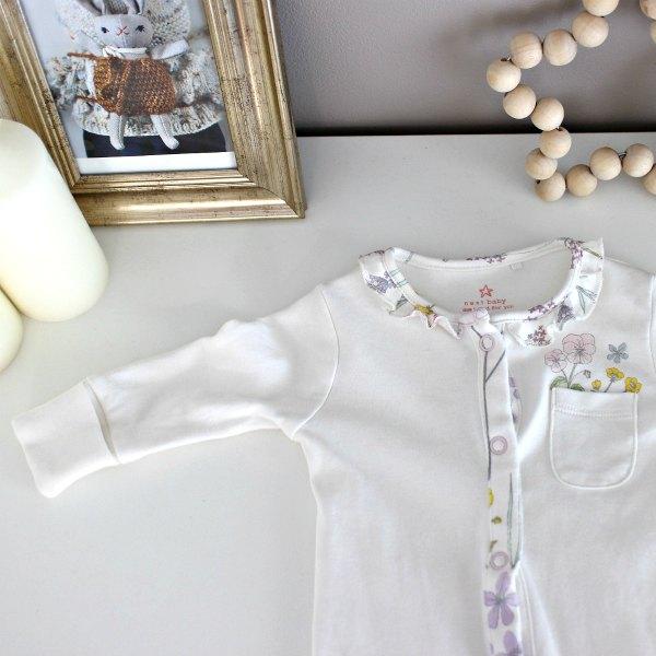 NEXTのベビー服、新生児女の子に着せた感想