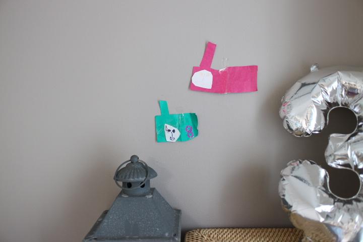 3才児の工作とお絵描き作品集