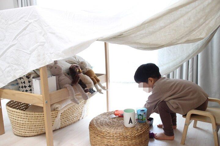 【赤ちゃん】二人育児の家遊び工夫【幼児】