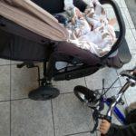 2人目赤ちゃんのベビーカー事情。