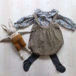 生後6ヶ月、秋のZARAベビー服コーディネートとおでかけ。