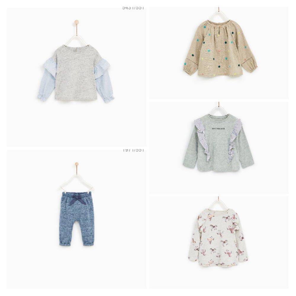 ZARAセールベビー服購入品と使える服使えない服考察。