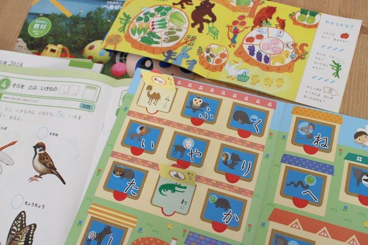 Z会の幼児教材資料を取り寄せてみたら勉強になった。
