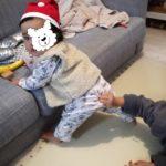 生後7ヶ月成長記録:親の顔色をチラ見する赤ちゃん。