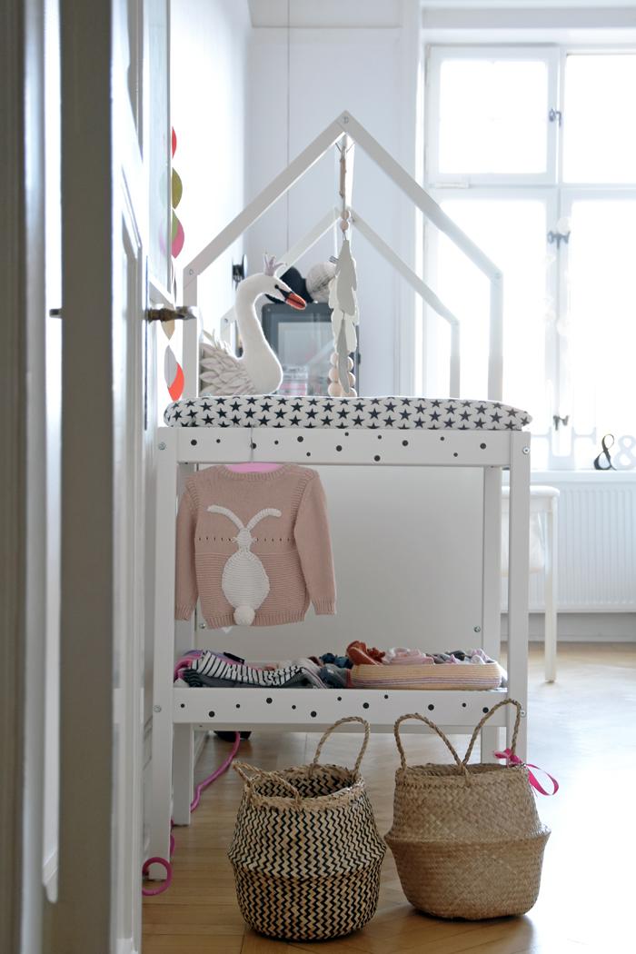 【出産準備】IKEAのオムツ替え台はリメイクでここまでオシャレに使える。