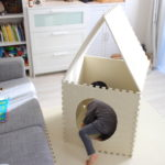 敷くだけじゃなかった!ジョイントマットが赤ちゃんと幼児の室内遊びで使えまくる。後編