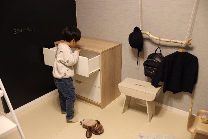 保育園・幼稚園の身支度収納スペースをオシャレに作ろう。