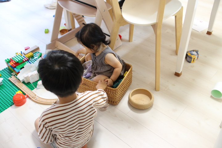 乳幼児と家で煮詰まらないためのアイデア8選