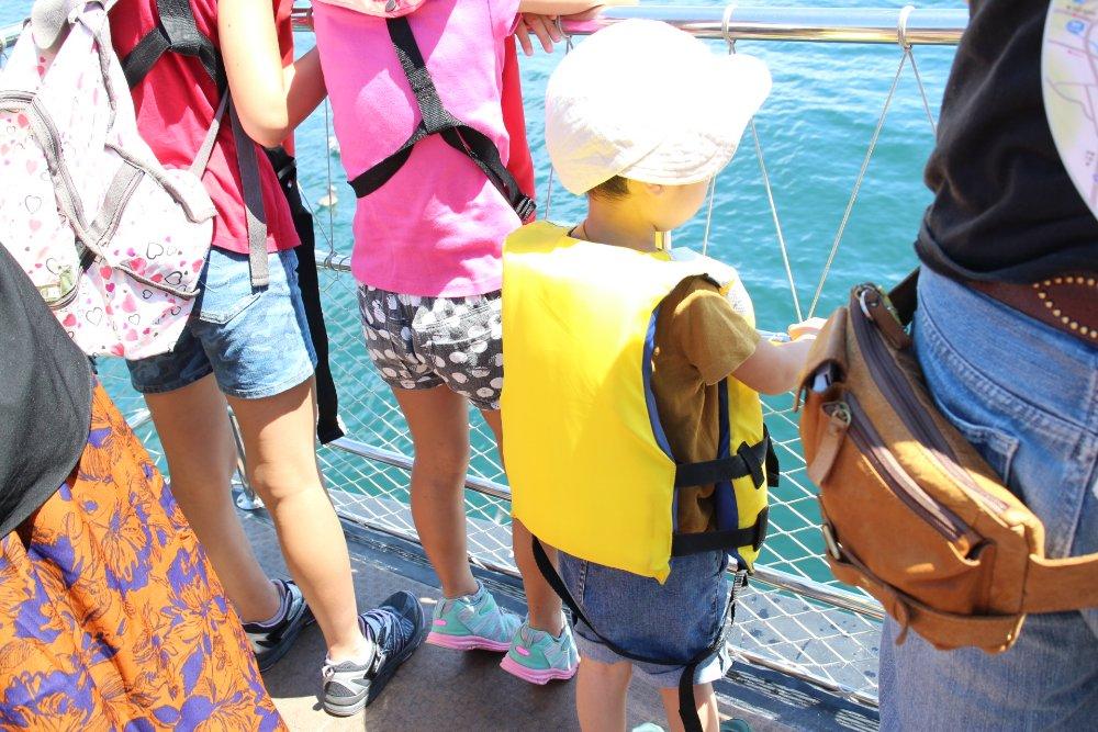 熱海遊覧船サンレモ、子連れ乗船