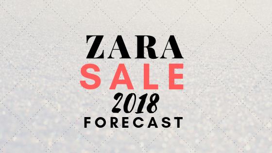 2018年のZARA冬セールはいつからなのか情報。
