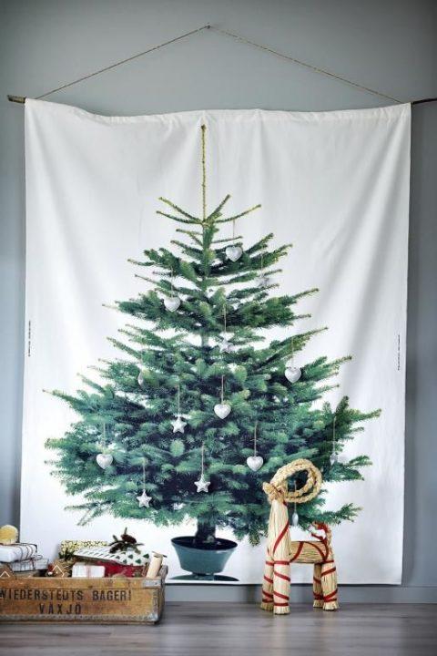 タペストリーツリーの新しい飾り付け方