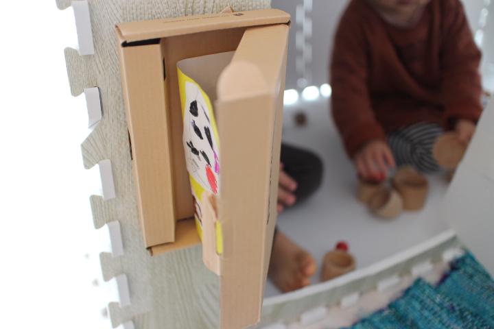 手作りハウスのポスト