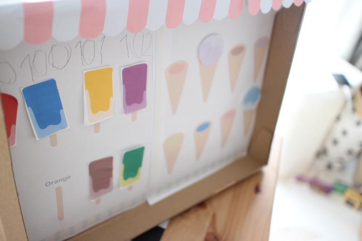 アイスクリーム工作