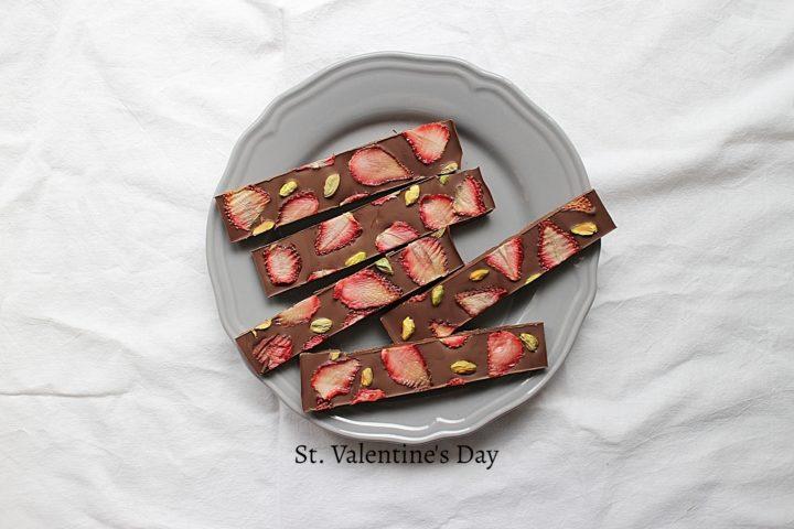 簡単なバレンタインチョコレートを子供と作る!