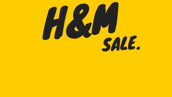 H&Mスプリングセール開始!60%オフあり!子ども服チェック品。
