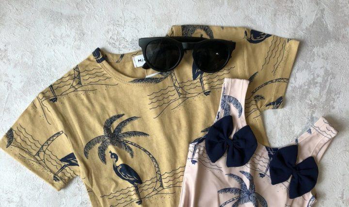 くすみカラーのシンプルTシャツ探し@楽天購入品