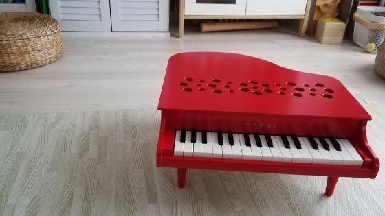 高熱と赤いピアノ。