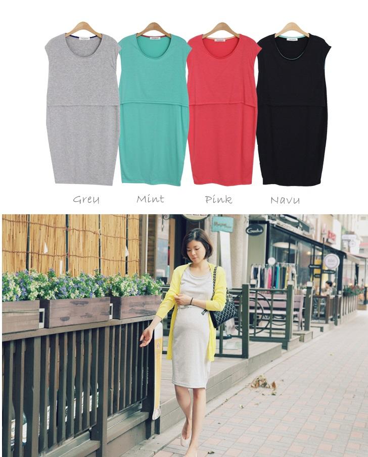 韓国のマタニティ服コーディネートブログ