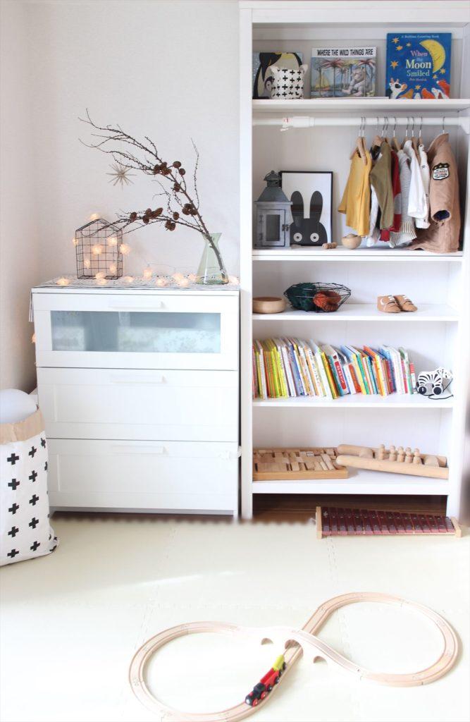 子供部屋用にIKEAの本棚を購入したのは赤ちゃんから大学生まで使えるから。