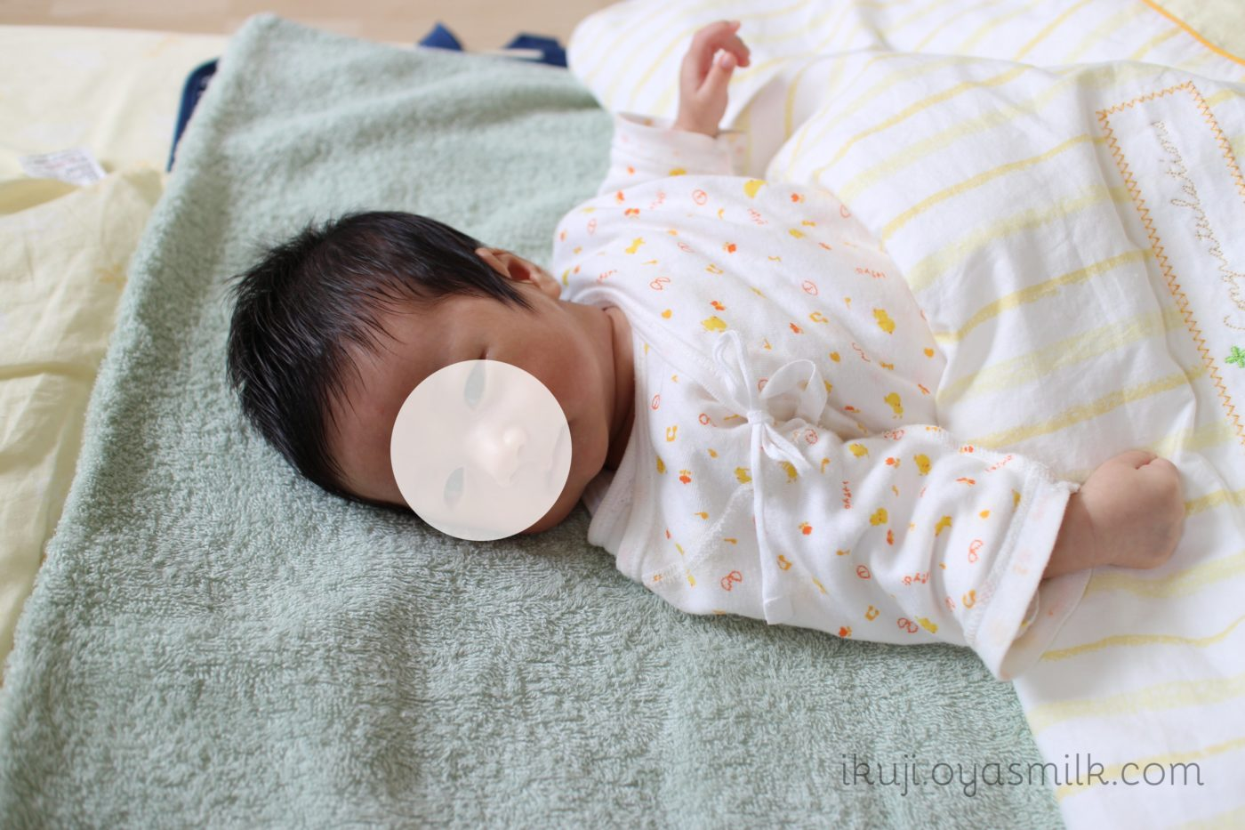 エコーで頭囲が大きいかった赤ちゃん