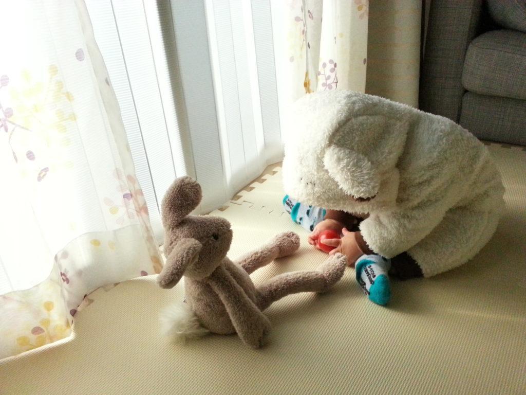 赤ちゃんのため冬の窓ぎわ冷気対策をやった!!