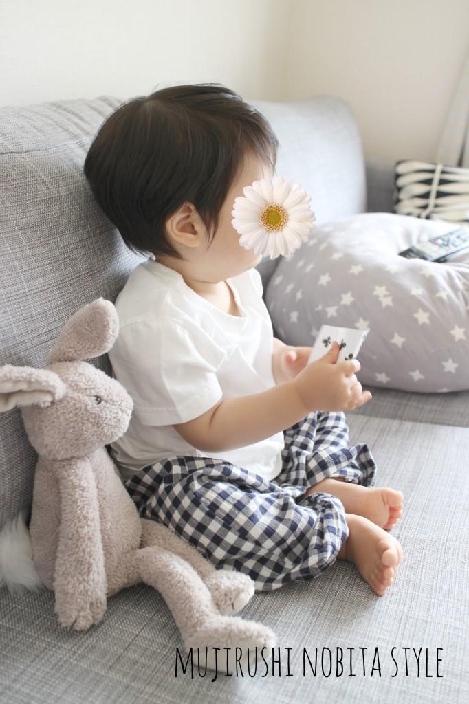 1才児の夏パジャマは無印良品にしました。
