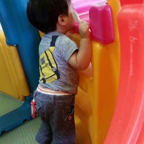 1才:子育て支援センターでの過ごし方