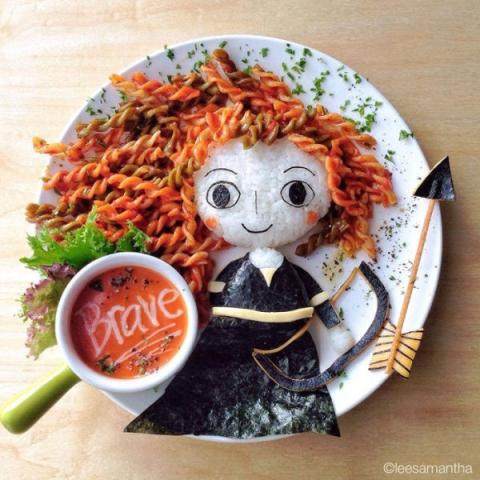 おしゃれなフードアート食で子供の食欲アップしたい。