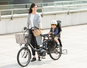 子乗せ付電動自転車を買ったら育児確変が起きた。