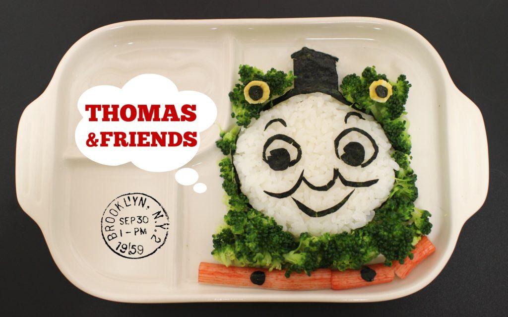 5月5日こどもの日:こいのぼりデコ&トーマスご飯プレート